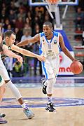 DESCRIZIONE : Eurocup 2014/15 Last32 Dinamo Banco di Sardegna Sassari -  Banvit Bandirma<br /> GIOCATORE : Jerome Dyson<br /> CATEGORIA : Palleggio Penetrazione<br /> SQUADRA : Dinamo Banco di Sardegna Sassari<br /> EVENTO : Eurocup 2014/2015<br /> GARA : Dinamo Banco di Sardegna Sassari - Banvit Bandirma<br /> DATA : 11/02/2015<br /> SPORT : Pallacanestro <br /> AUTORE : Agenzia Ciamillo-Castoria / Luigi Canu<br /> Galleria : Eurocup 2014/2015<br /> Fotonotizia : Eurocup 2014/15 Last32 Dinamo Banco di Sardegna Sassari -  Banvit Bandirma<br /> Predefinita :