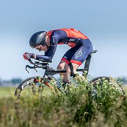EMMEN (NED) June 16: <br />CYCLING <br />Dutch Nationals Time Trail men U23 Jasper Haest