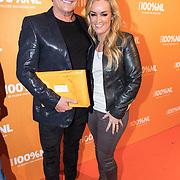 NLD/Amsterdam/20180220 - 100% NL Awards 2018, Gerard Joling en Samantha Steenwijk