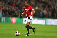 Anthony Martial of Manchester Utd in action. EFL Cup Final 2017, Manchester Utd v Southampton at Wembley Stadium in London on Sunday 26th February 2017. pic by Andrew Orchard, Andrew Orchard sports photography.