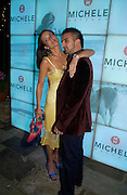 Sophie Anderton and Mark Alexiou. Michelle Watches Kaleidoscope Summer party. Home House. 15 June 2005 ONE TIME USE ONLY - DO NOT ARCHIVE  © Copyright Photograph by Dafydd Jones 66 Stockwell Park Rd. London SW9 0DA Tel 020 7733 0108 www.dafjones.com