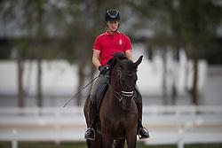 Dahl Anders, (DEN), Selten HW<br /> Trainer French Dressage team<br /> Olympic Games Rio 2016<br /> © Hippo Foto - Dirk Caremans<br /> 04/08/16