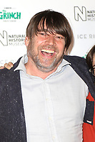 Alex James, Natural History Museum Ice Rink Launch Party, London, UK, 24 October 2018, Photo by Richard Goldschmidt