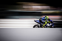 May 6, 2018 - Jerez, France - VALENTINO ROSSI - ITALIAN - MOVISTAR YAMAHA MotoGP - YAMAHA (Credit Image: © Panoramic via ZUMA Press)