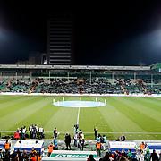 Bursaspor's Supporters fans during their Turkish soccer super league match Bursaspor between Galatasaray at the Ataturk Stadium in Bursa Turkey on Saturday, 02 February 2013. Photo by Aykut AKICI/TURKPIX
