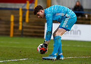 Adam Parkes of Watford during under-23 professional development league match between Watford and Charleton Athletic at Charleton Athletic Park Stadium, Monday, Feb. 3, 2020, in St. Albans, United Kingdom. (Mitchell Gunn-ESPA Images/Image of Sport)