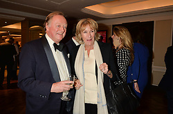 ANDREW PARKER BOWLES and ANNABEL ELLIOT at a party to celebrate the publication of 'Let's Eat meat' by Tom Parker Bowles held at Fortnum & Mason, Piccadilly, London on 21st October 2014.