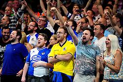 Bristol Rovers fans cheer at Stamford Bridge - Mandatory by-line: Dougie Allward/JMP - 23/08/2016 - FOOTBALL - Stamford Bridge - London, England - Chelsea v Bristol Rovers - EFL Cup second round