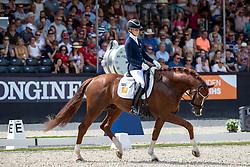 BRUNKHORST Juliane (GER), Asgard's Ibiza<br /> Ermelo - World Breeding Dressage Championsships for Young Horses 2018<br /> Weltmeisterschaft Junge Dressurpferde<br /> Finale 5jährige Dressurpferde<br /> 04. August 2018<br /> © www.sportfotos-lafrentz.de/Stefan Lafrentz