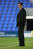 Photo: Rich Eaton.<br /> <br /> Shrewsbury Town v Fulham. Carling Cup. 28/08/2007. Fulham manager Lawrie Sanchez watches a 0-0 first half.