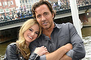 Photocall cast The Bold and the Beautiful in Hotel De L'Europe , Amsterdam <br /> <br /> On the Photo:  Kelly Kruger and Thorsten Kaye