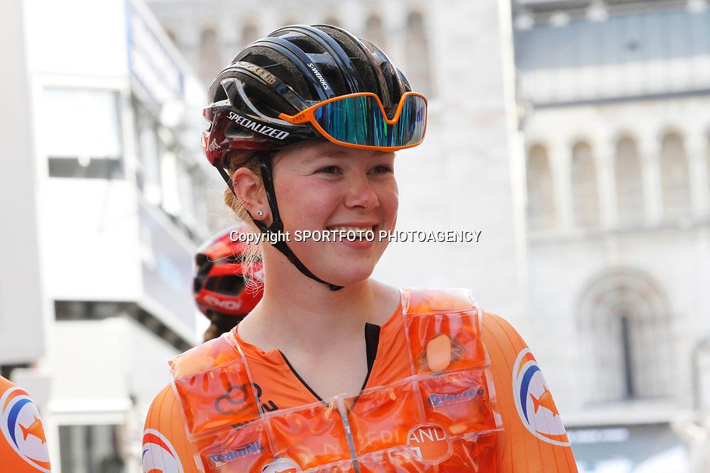 TRENTO (ITA): CYCLING: SEPTEMBER 10th:<br /> Lonneke Uneken