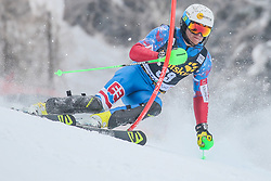 Adam Zampa (SVK) during 1st run of Men's Slalom race of FIS Alpine Ski World Cup 57th Vitranc Cup 2018, on March 4, 2018 in Kranjska Gora, Slovenia. Photo by Ziga Zupan / Sportida