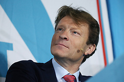 Richard Tice during at a rally at Featherstone Working Man's Club, while on the European Election in Pontefract, West Yorkshire. Picture dated: Monday May 13, 2019. Photo credit should read: Isabel Infantes / EMPICS Entertainment.