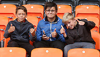 Blackpool fans look forward to todays match<br /> <br /> Photographer Stephen White/CameraSport<br /> <br /> The EFL Sky Bet League Two - Blackpool v Plymouth Argyle - Saturday 27 August 2016 - Bloomfield Road - Blackpool<br /> <br /> World Copyright © 2016 CameraSport. All rights reserved. 43 Linden Ave. Countesthorpe. Leicester. England. LE8 5PG - Tel: +44 (0) 116 277 4147 - admin@camerasport.com - www.camerasport.com<br /> <br /> Photographer Stephen White/CameraSport<br /> <br /> The EFL Sky Bet League Two - Blackpool v Plymouth Argyle - Saturday 27 August 2016 - Bloomfield Road - Blackpool<br /> <br /> World Copyright © 2016 CameraSport. All rights reserved. 43 Linden Ave. Countesthorpe. Leicester. England. LE8 5PG - Tel: +44 (0) 116 277 4147 - admin@camerasport.com - www.camerasport.com