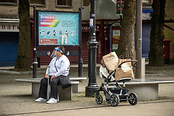 © Licensed to London News Pictures . 16/09/2020. Bolton , UK . GV Victoria Square in Bolton Town Centre . The number of recorded cases of Coronavirus has gone over 200 in a single day , in Bolton . Photo credit : Joel Goodman/LNP