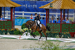 Werth Isabell (GER) - Satchmo 78<br /> Olympic Games Hong Kong 2008<br /> Photo © Dirk Caremans - Hippo Foto