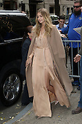 Dec. 8, 2015 - New York City, NY, USA - Model Gigi Hadid made an appearance at The Kelly and Michael Show <br /> ©Exclusivepix Media