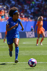 June 29, 2019 - Valenciennes, France - Sara Gama (ITA) during the quarter-final between in ITALY and NETHERLANDS the 2019 women's football World cup at Stade du Hainaut, on the 29 June 2019. (Credit Image: © Julien Mattia/NurPhoto via ZUMA Press)