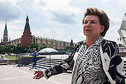 Moscow, Russia, 11/06/2013.<br /> Valentina Tereshkova, who on 16th June 1963 became the first woman to fly into space when she piloted the Soviet Union's Vostok 6 rocket on its 3 day flight.