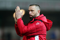 Aaron Wilbraham of Bristol City applauds the fans - Mandatory by-line: Matt McNulty/JMP - 17/01/2017 - FOOTBALL - Highbury Stadium - Fleetwood,  - Fleetwood Town v Bristol City - Emirates FA Cup Third Round Replay