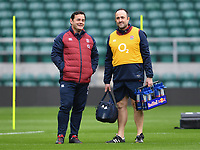 Rugby Union - 2020 Six Nations - England Open Training Session, Twickenham<br /> <br /> Former England captain Will Carling during the Open Training Session , at Twickenham Stadium<br /> <br /> COLORSPORT/ASHLEY WESTERN
