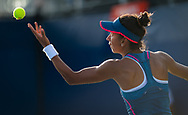 Cagla Buyukakcay of Turkey in action during the first qualification round at the 2018 US Open Grand Slam tennis tournament, New York, USA, August 22th 2018, Photo Rob Prange / SpainProSportsImages / DPPI / ProSportsImages / DPPI