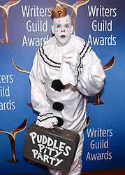February 17, 2019 - Beverly Hills, California, USA - PUDDLES PITY PARTY, MIKE GEUER attends the 2019 Writers Guild Awards Los Angeles Ceremony at The Beverly Hilton Hotel in Beverly Hills, California, (Credit Image: © Billy Bennight/ZUMA Wire)