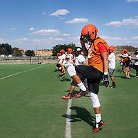 Bengal football practice at Gallup High School, Tuesday August 7, 2018.