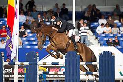 Motmans Jan (BEL) - Desteny van het Dennehof<br /> Belgisch Kampioenschap Jumping - Lanaken 2011<br /> © Dirk Caremans