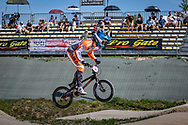 2021 UCI BMXSX World Cup<br /> Round 2 at Verona (Italy)<br /> ^me#42 SCHIPPERS, Jay (NED, ME) Pro Gate, Dutch National Team