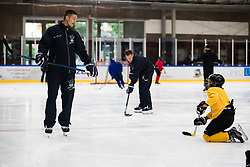 Ziga Pavlin during Anze Kopitar's ice hockey academy in Sport hall Bled, 2nd July, 2020, Bled, Slovenia. Photo by Grega Valancic / Sportida
