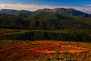 Ouro Preto_MG, Brazil.<br /> <br /> .Distrito Lavras Novas, ele esta localizado na cidade historica de Ouro Preto. na foto montanhas e estrada de terra.<br /> <br /> Lavras Novas district, Its located in Ouro Preto, in this photo mountains anda dirt road<br /> <br /> Foto: LEO DRUMOND / NITRO