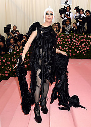 Aquaria attending the Metropolitan Museum of Art Costume Institute Benefit Gala 2019 in New York, USA.