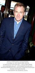 Comic HARRY ENFIELD at a luncheon in London on 18th March 2003.PIB 155