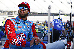 April 13, 2018 - Bristol, Tennessee, United States of America - April 13, 2018 - Bristol, Tennessee, USA: Darrell Wallace, Jr (43) hangs out on pit road before qualifying for the Food City 500 at Bristol Motor Speedway in Bristol, Tennessee. (Credit Image: © Chris Owens Asp Inc/ASP via ZUMA Wire)
