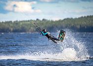 Kitesurfing på Storsjön, Jämtland
