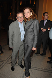 SEBASTIAN CONRAN and GERTRUDE THOME at a party to celebrate the 150th anniversary of the V&A museum, Cromwell Road, London on 26th June 2007.<br />