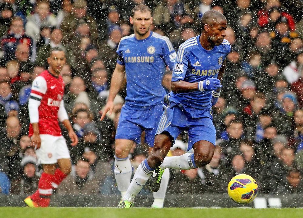 Chelsea's Ramires in action during todays match... - Credit - CameraSport - James Marsh - ..Football - Barclays Premiership - Chelsea v Arsenal - Sunday 20th January 2013 - Stamford Bridge - London..