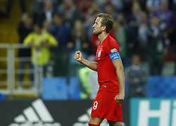 July 3, 2018 - Moscow, Russia - Round of 16 England v Colombia - FIFA World Cup Russia 2018..Harry Kane (England) celebration during the penalty shootout at Spartak Stadium in Moscow, Russia on July 3, 2018. (Credit Image: © Matteo Ciambelli/NurPhoto via ZUMA Press)