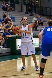 20 June 2009: Courtney Martin.  Illinois Basketball Coaches Association 1A-2A Girls All Star game.