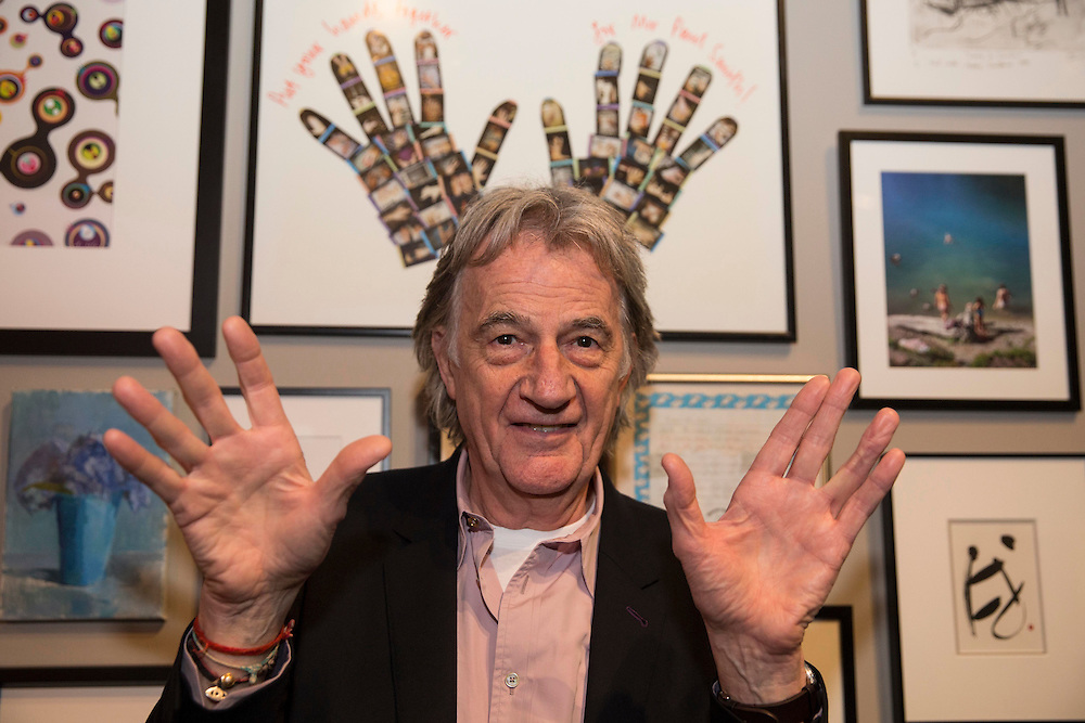 World famous designer Paul Smith opens the 'Hello my name is Paul Smith' exhibition at the Lighthouse in Glasgow . Scotland's Centre for Design and Architecture. From 21st Jan-20 March 2016. Picture Robert Perry 20th Jan 2016<br /> <br /> Must credit photo to Robert Perry<br /> FEE PAYABLE FOR REPRO USE<br /> FEE PAYABLE FOR ALL INTERNET USE<br /> www.robertperry.co.uk<br /> NB -This image is not to be distributed without the prior consent of the copyright holder.<br /> in using this image you agree to abide by terms and conditions as stated in this caption.<br /> All monies payable to Robert Perry<br /> <br /> (PLEASE DO NOT REMOVE THIS CAPTION)<br /> This image is intended for Editorial use (e.g. news). Any commercial or promotional use requires additional clearance. <br /> Copyright 2014 All rights protected.<br /> first use only<br /> contact details<br /> Robert Perry     <br /> 07702 631 477<br /> robertperryphotos@gmail.com<br /> no internet usage without prior consent.         <br /> Robert Perry reserves the right to pursue unauthorised use of this image . If you violate my intellectual property you may be liable for  damages, loss of income, and profits you derive from the use of this image.