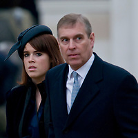 London Feb 24  Prince Andrew and Princess Eugenie   during the unveiling of the Queen Mother Statue on The Mall on Feb 24 2009...***Standard Licence  Fee's Apply To All Image Use***.Marco Secchi /Xianpix. tel +44 (0) 845 050 6211. e-mail ms@msecchi.com or sales@xianpix.com.www.marcosecchi.com