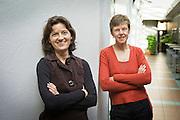 Tervuren, Belgium, Oct 26, 2010, Gracy Poelman en Elisabeth Versailles, Sas. PHOTO © Christophe Vander Eecken