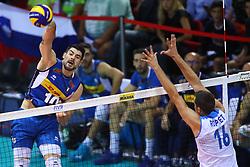 FILIPPO LANZA<br /> <br /> Italy vs Slovenia<br /> Volleyball men's world championship <br /> Florence September 18, 2018