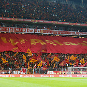 Galatasaray's Supporters fans during their Turkish superleague soccer derby match Galatasaray between Besiktas at the TT Arena at Seyrantepe in Istanbul Turkey on Sunday, 27 January 2013. Photo by Aykut AKICI/TURKPIX
