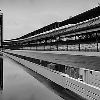 14 May, 2005, Indianapolis Motor Speedway, USA<br /> Rain cancels the first day of qualifying.<br /> © 2005 Phillip Abbott/USA<br /> LAT Photographic