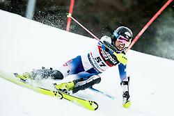 "Emiko Kiyosawa (JPN) competes during 1st Run of FIS Alpine Ski World Cup 2017/18 Ladies' Slalom race named ""Snow Queen Trophy 2018"", on January 3, 2018 in Course Crveni Spust at Sljeme hill, Zagreb, Croatia. Photo by Vid Ponikvar / Sportida"