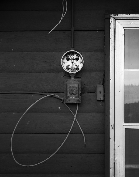 Door and Junction Box, Carcross, YT