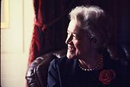 Senator Margaret Chase Smith<br /><br />Photo by Dennis Brack bb72